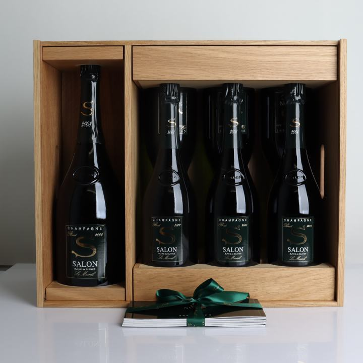 Salon, Le Mesnil, Blanc De Blancs, Limited Edition Oenotheque Case 2008