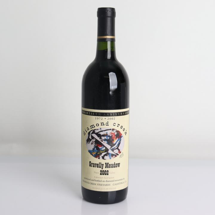 Diamond Creek Vineyard, Cabernet Sauvignon - Gravelly Meadow 2002