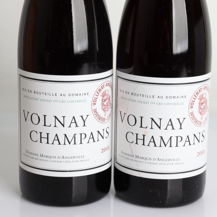 Domaine Marquis D'Angerville, Volnay, Champans 2001