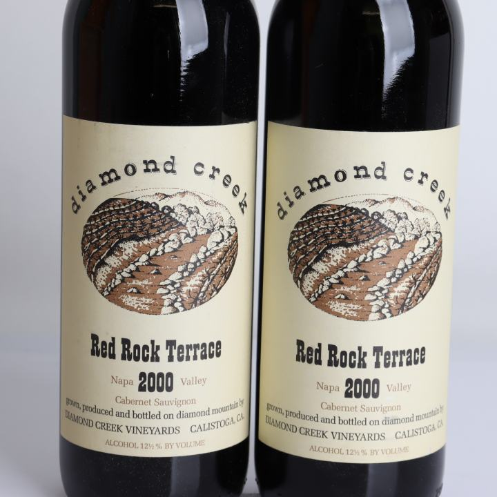 Diamond Creek Vineyard, Cabernet Sauvignon - Red Rock Terrace 2000