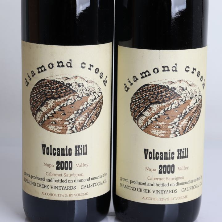 Diamond Creek Vineyard, Cabernet Sauvignon - Volcanic Hill 2000
